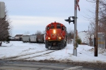 CN 502 going to the St-Romuald industrial park