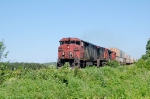 CN 121 with a Full body cab lead