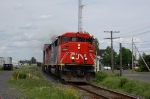 CN 121 with 2 full body, First engin is a SD60f fresh new paint.