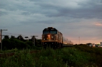 VIA 26 is taking the St-Apollinaire siding.