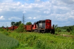 CN 514 at St-Gregoire with a nice SD40u