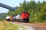 CN Becancour switcher with a full body cab on back! What a nice view!