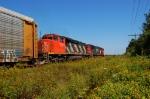 CN SD40-2w 2558