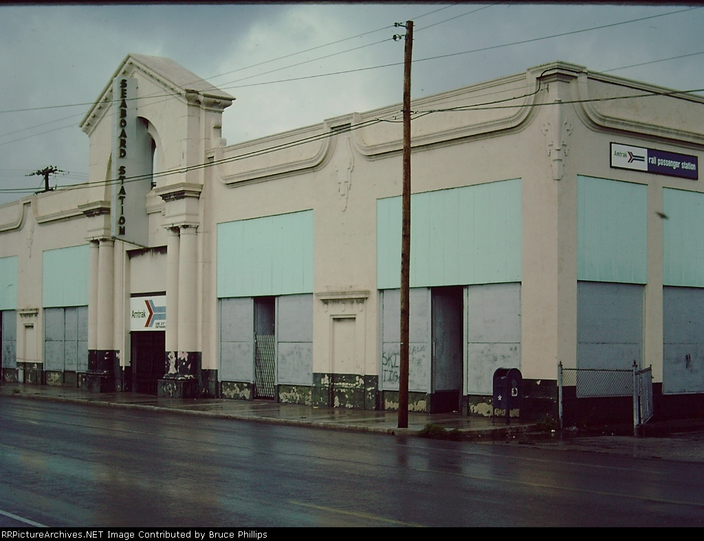 1977 - Old Seaboard Air Line station - Miami Florida