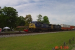CSX 7767 and 7899 lead T120 Southbound