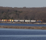 NECR northbound from across the Thames River