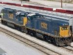 CSX 2553 & CSX 1204