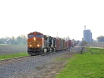 BNSF 5190 Clearing West Chana