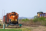 BNSF 2867 Working and UP 8478 Pushing