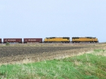 UP 4332 Herzog Ballast Loads