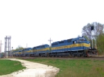5 Named DME/ICE SD40-2s on Train 271