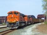 BNSF Pair of SD70ACe's Coal Train