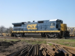 CSX 5971 rests between switching assignments in Montgomery just south of North Yard.
