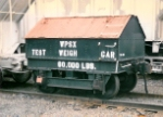 Wheeling Pittsburgh Steel test Weigh Car