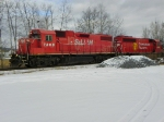 St. Lawrence and Hudson 7306 and Canadian Pacific 4654