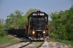 April 16th and INRD 3808 slowly eases round the industrial system