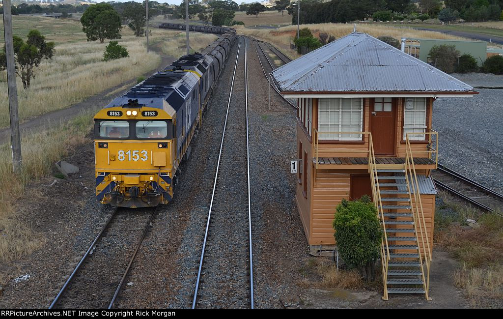 Passing Yass Junction