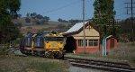 Passing the Depot at Galong