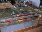 the model train yard