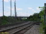 looking south of the morgantown siding