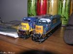 my csx locomotives
