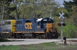 Railfanning in Wellsboro Indiana