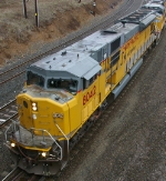 "Union Pacific #8042-""We Will Deliver"""