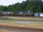 CSX 943 and 224 on Q602