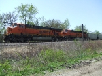 BNSF 6055 and 5923