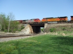 BNSF 5393 and 771