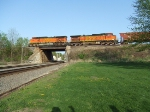 BNSF 5108 and 4933