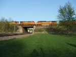 BNSF 501 and 4412