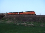 BNSF 9361 and 5778