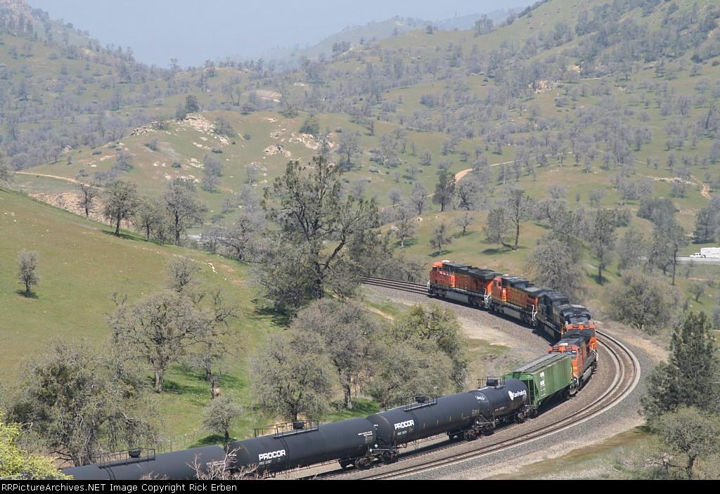 Three views of BNSF 7726-I
