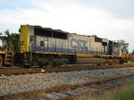 Various shots of CSX local A720 tied down at West Point, GA siding over a hot weekend in mid August 2010