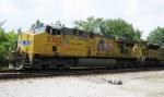CSX Lineville Sub trains at LaGrange, GA  August 2010