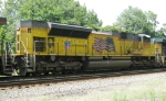 CSX Lineville Sub trains at LaGrange, GA  August 2010