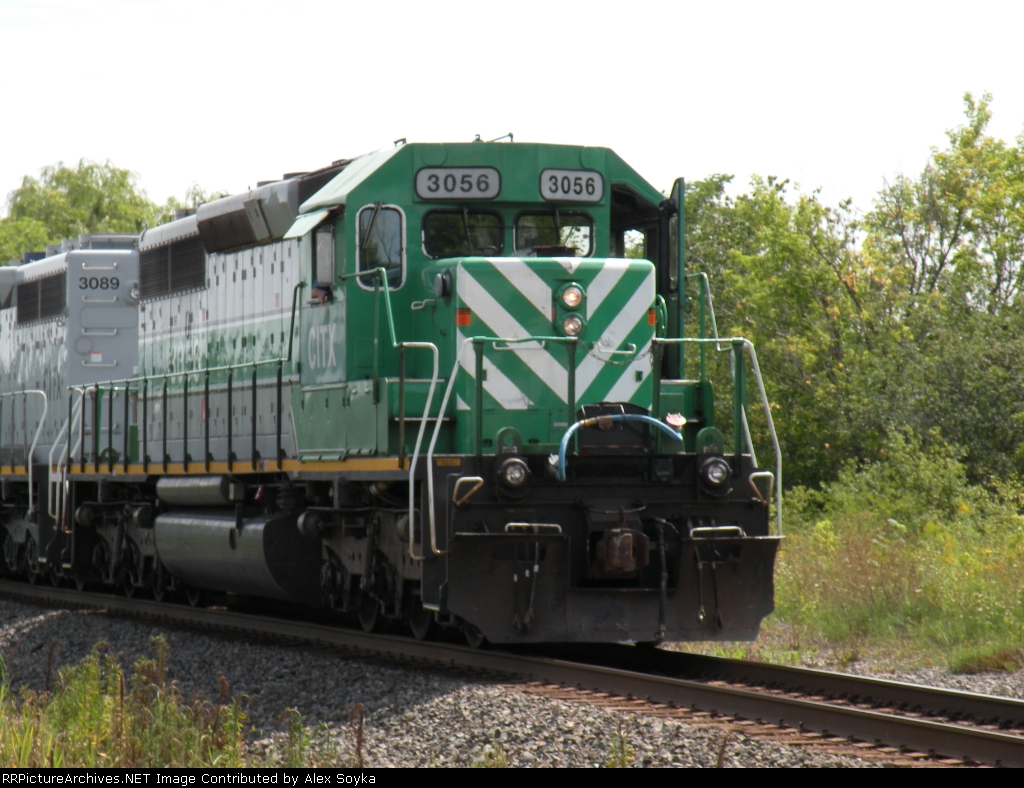 CSX Local with leased Power