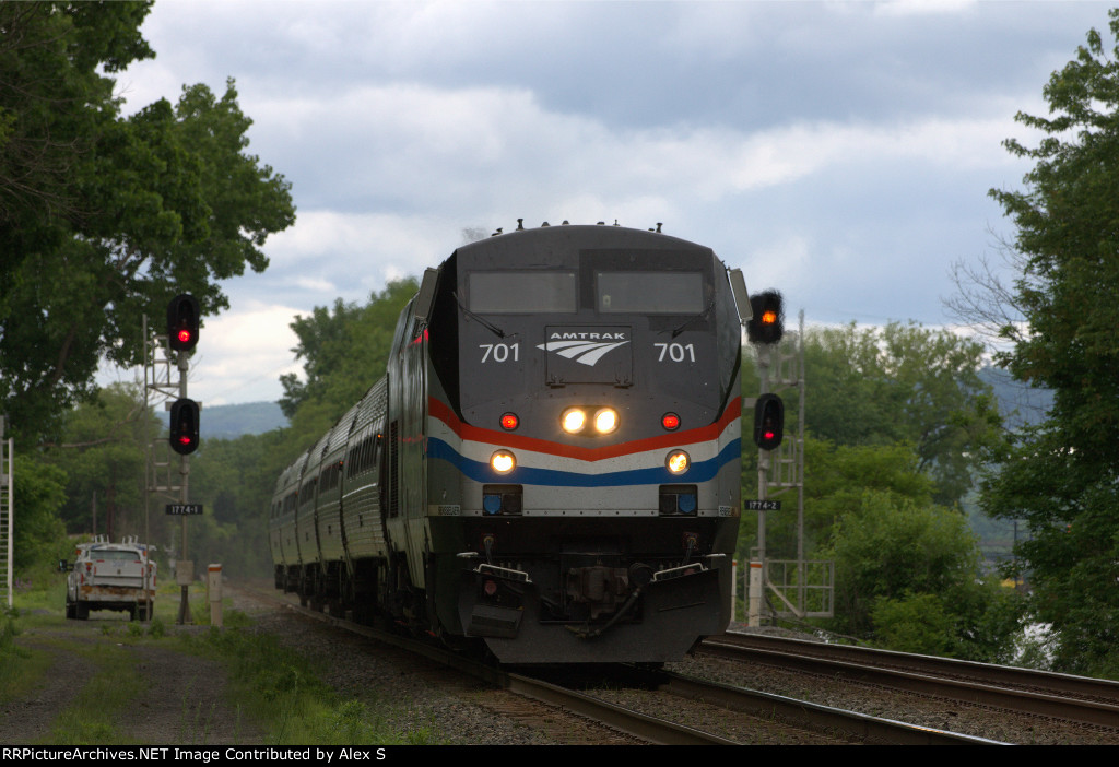 Amtrak Empire train