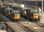 CSX Yard engines
