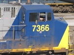 CSX Q421 on the move