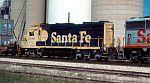 Santa Fe 2781 on this intermodal train