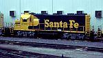 Santa Fe 2920 rests at the shops