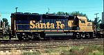 Santa Fe GP50 flies by