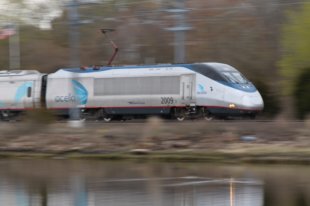 Acela Express at Walkers Dock
