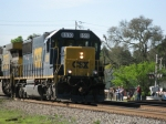CSXT 8510 leads today's T108 northbound