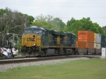 CSXT 5367 leads today's Q155 southbound