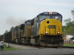 CSXT 4558 leads today's N122 southbound