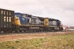 Southbound unit coke train