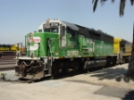 """White Face"" GP50 BNSF 3114"